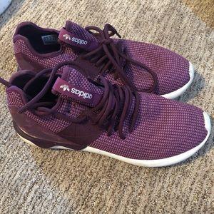 Purple Adidas Shoes